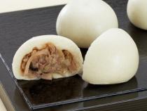 〈観山荘〉小倉牛饅