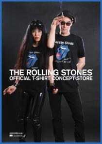 〈3階インフォメーション〉The Rolling Stones' official T-shirt Concept Store