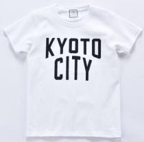 〈2階インフォメーション〉〈KYOTO CITY〉Tシャツ