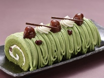 〈ユーハイム・ディー・マイスター〉福岡県産抹茶のロールケーキ