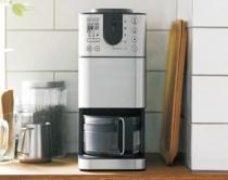 〈無印良品〉豆から挽けるコーヒーメーカー